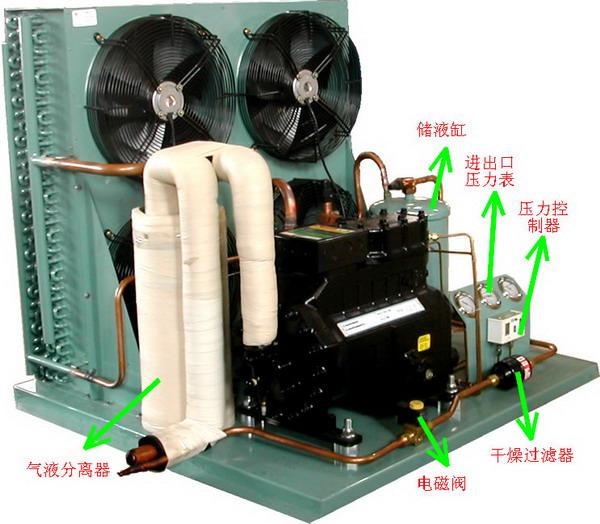 冷库热继电器接线图